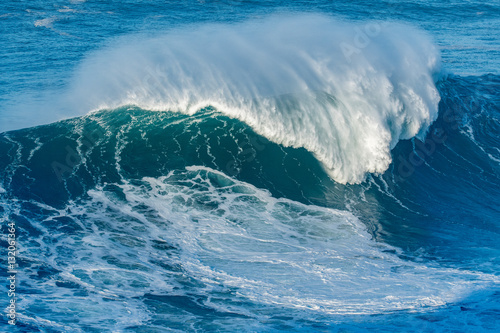 Wave breaking in Nazare