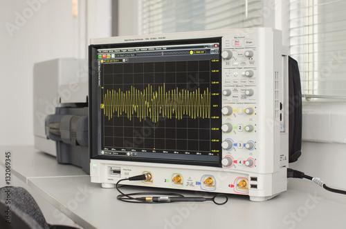 Fotografie, Obraz  Professional digital oscilloscope