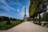 Fototapeta Fototapety Paryż - Eiffel Tower Paryż wieża