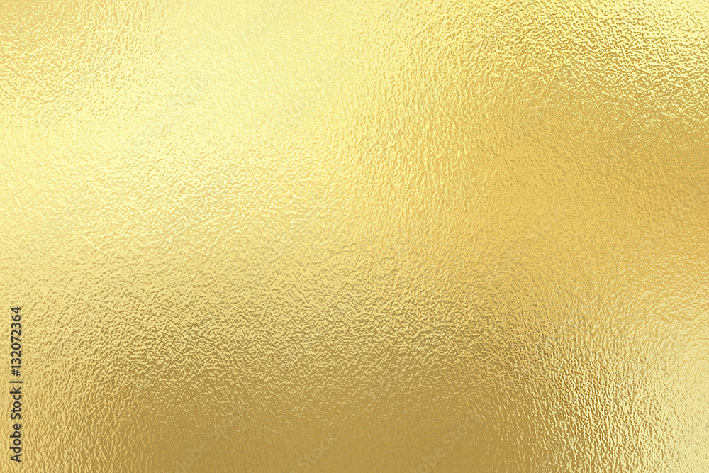 Fototapety, obrazy: Gold foil texture background