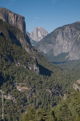 Yosemite Valley, California During the Day Poster