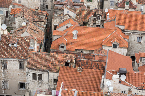 In de dag Centraal Europa Sights of Croatia. Beautiful city Split. Croatian paradise.