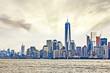 Beautiful view of Manhattan