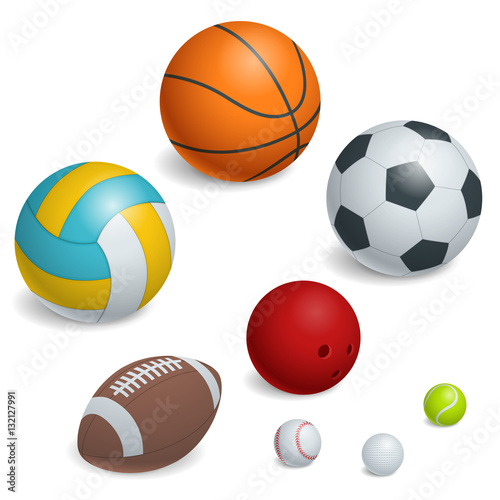In de dag Bol Isometric Sports Balls Set.