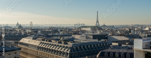View of the roofs of Paris. © Instantvise