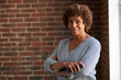 Leinwanddruck Bild - Head And Shoulders Portrait Of Mature Businesswoman