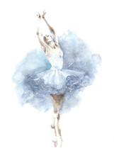 Ballerina Dancing Girl Waterco...