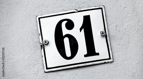 Fotografia  Hausnummer einundsechzig