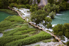 Kuda's Bridge Over Krupa River...