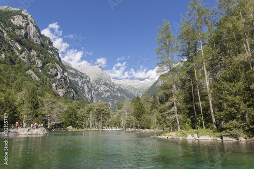 Photo  Beautiful landscape of Val di Mello (Valtellina)