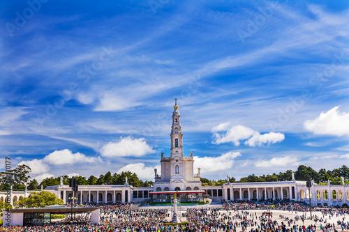 May 13th Celebration Mary Appearance Fatima Portugal Fototapeta
