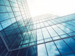 canvas print picture - Architecture details Modern Building Glass facade Business background