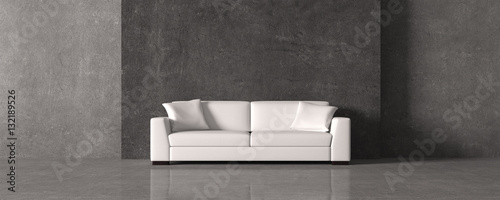 Foto  rustic living room