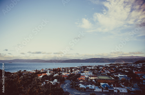 Landscape of Wellington, New Zealand
