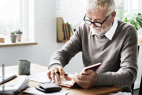 Fotografie, Obraz  Desk Document Signature Transaction Writer Concept