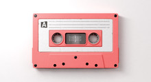 Pink Cassette Mix Tape