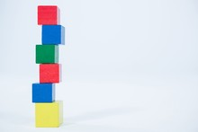 Stack Of Building Blocks