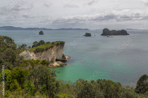 Foto op Canvas Cathedral Cove Cathedral Cove auf der Nordinsel Neuseelands