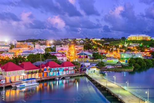 Cadres-photo bureau Caraibes St. Johns Antigua