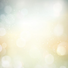 Abstract Bokeh Blurry Light Dot Background