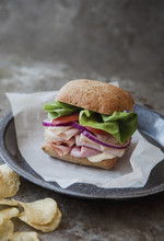 Cold Cut Snadwich With Whole W...