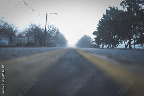 Fototapety, obrazy: Foggy Road