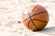 Basketball On The Beach