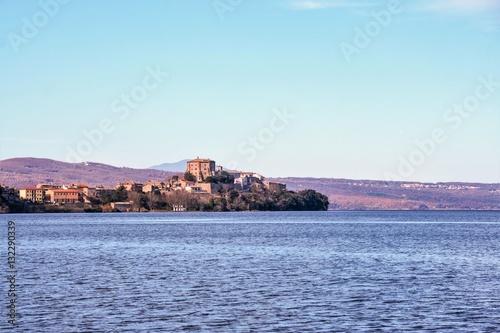 Fotografie, Obraz  Capodimonte on Bolsena lake