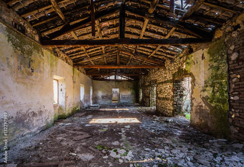Old concentration camp Le Fraschette, Alatri, Ciociaria, Italy Wallpaper Mural