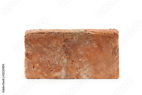 old brick isolated