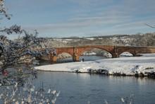 Eden Bridge, Lazonby, Eden Valley, Cumbria