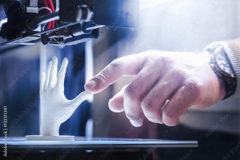 Fototapety, obrazy: 3d printing in progress