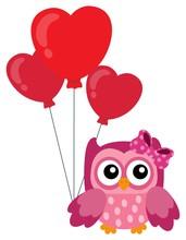 Valentine Owl Topic Image 4