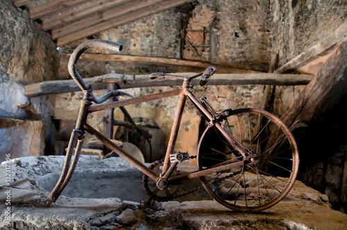 In de dag Fiets bicicleta antigua