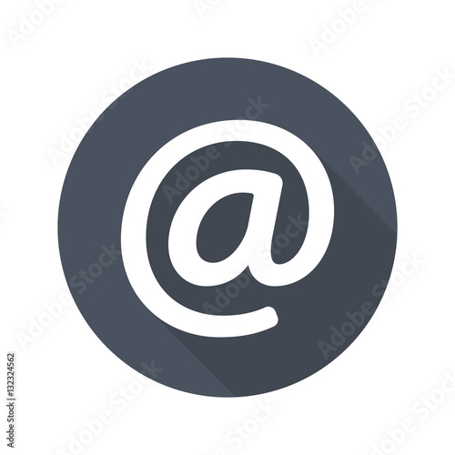 Fototapety, obrazy: At email icon vector