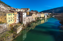 Fossombrone (Italy), A Town Wi...