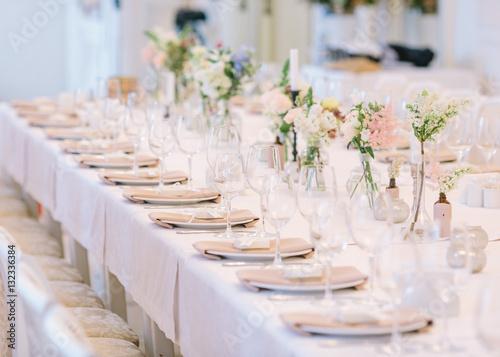 Fotomural Wedding decor, interior. Festive .