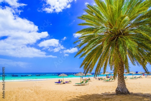 Tuinposter Canarische Eilanden Beach in Tenerife, Canary Islands, Spain