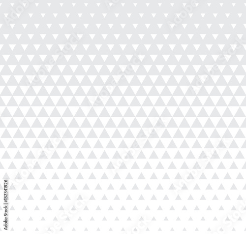 Abstract geometric subtle graphic design print triangle halftone pattern