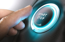 Car Start And Stop Button