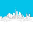 Frankfurt Skyline, Blaue Serie
