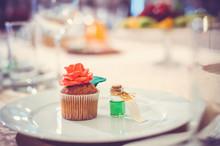 Sweet Cupcake Jewelry Delicate Flower