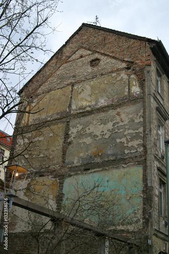 Fotografija  marode und verfallende Gebäude