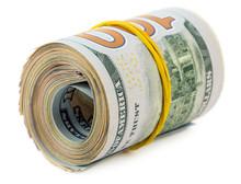 American Dollars In Roll