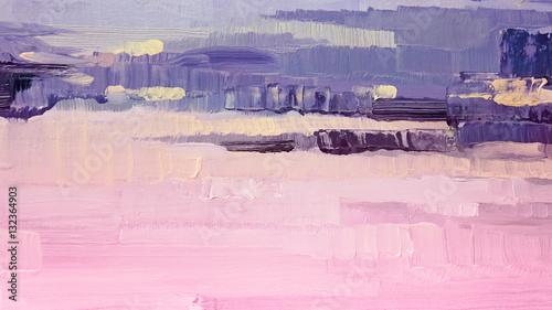 pociagniecia-pedzlem-rozowej-i-fioletowej-farby-olejnej-na-plotnie-abstrakcyjne-tlo