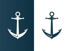 Anchor Business Modern Logo Si...