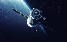 Spacecraft. Cosmic Art, Scienc...
