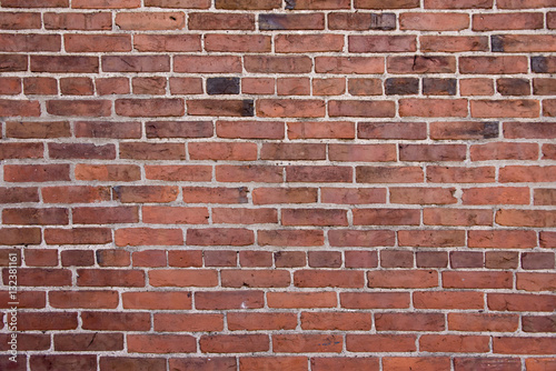 Deurstickers Baksteen muur Red Brick Wall
