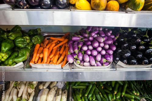 Fotografie, Obraz  Fresh vegetables at market in Dubai, United Arab Emirates