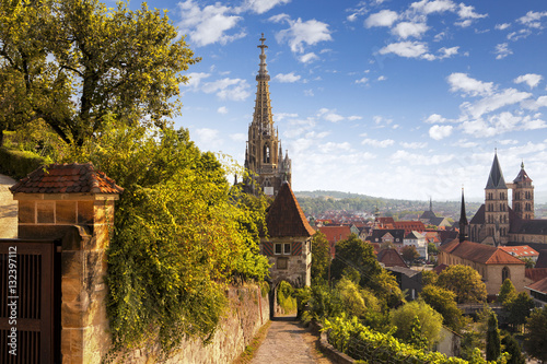 Fototapety, obrazy:  Esslingen am Neckar, historic medieval town  in Germany